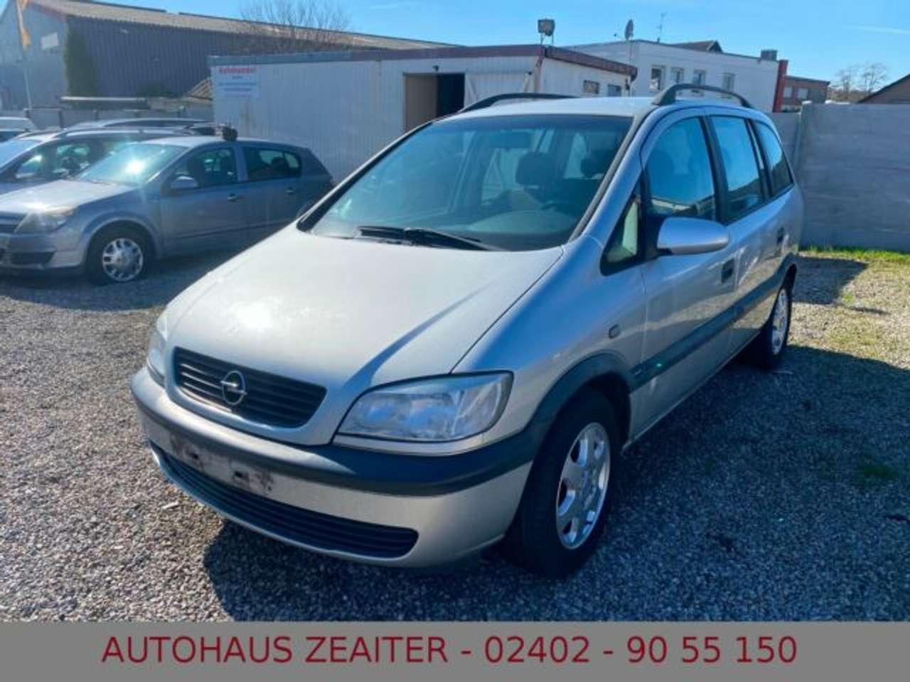 Autos nach Opel Zafira 1.6 16V