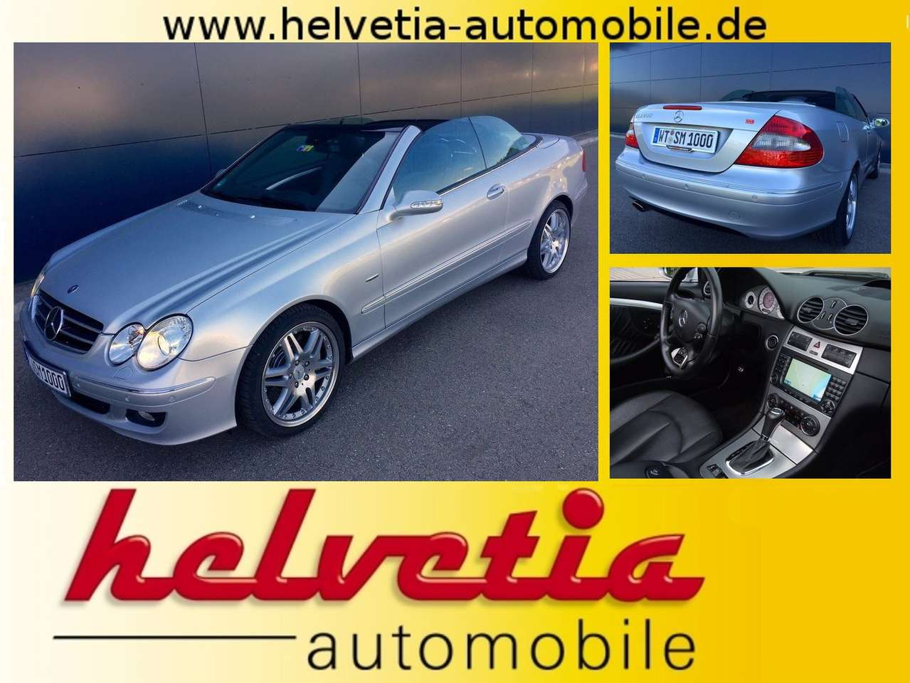 Used Mercedes Benz Clk-Class 500