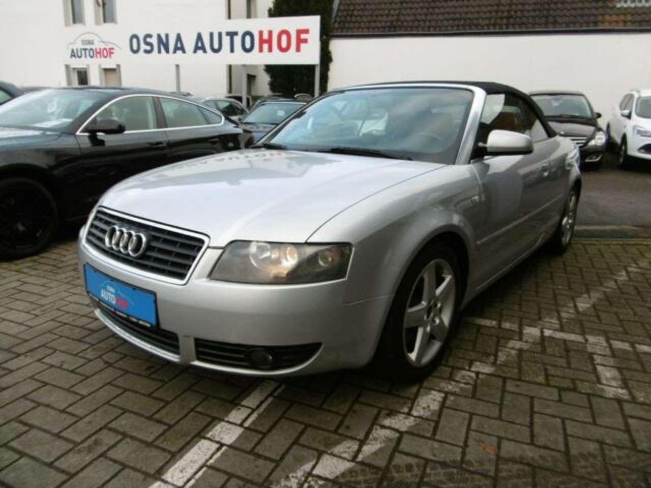 Autos nach Audi A4 Cabriolet 3.0