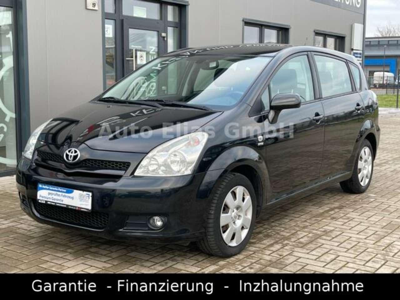 Autos nach Toyota Corolla Verso 1.6