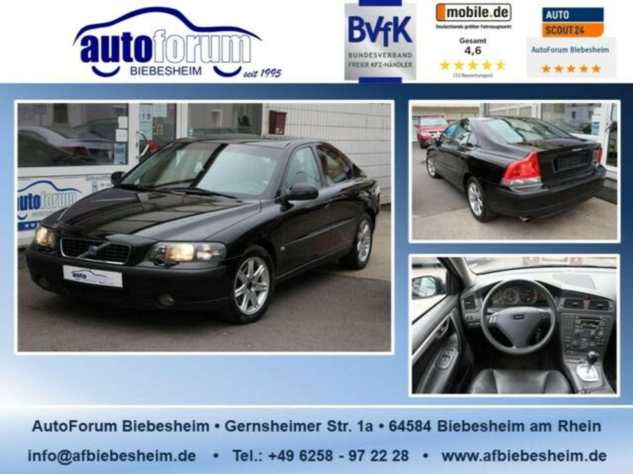 Autos nach Volvo S60 2.4 D
