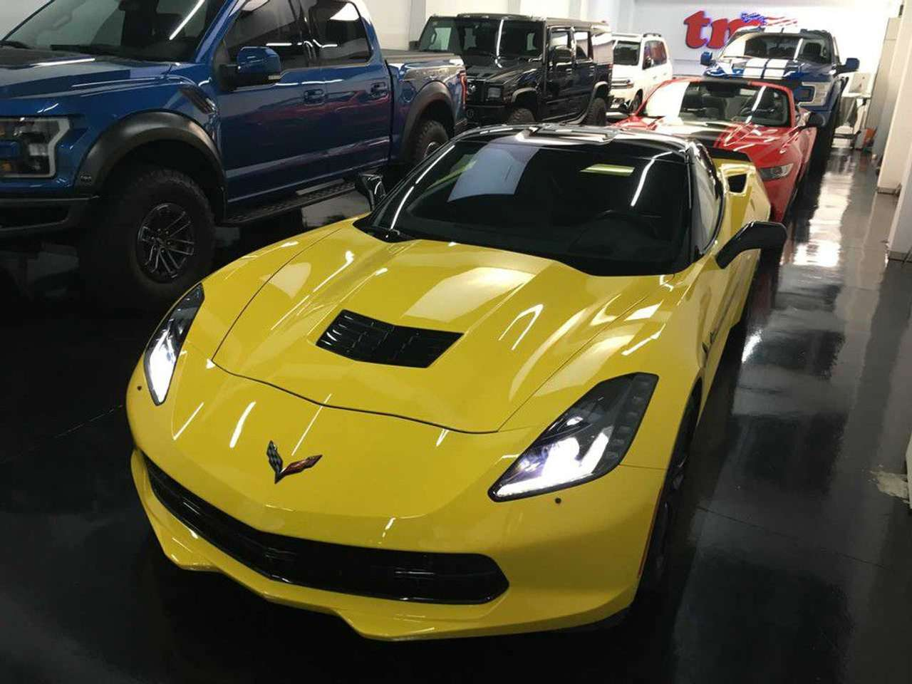 Coches por Chevrolet Corvette